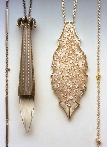 Sondra Sherman, Armor and Amor, halssieraden, 1990-1995