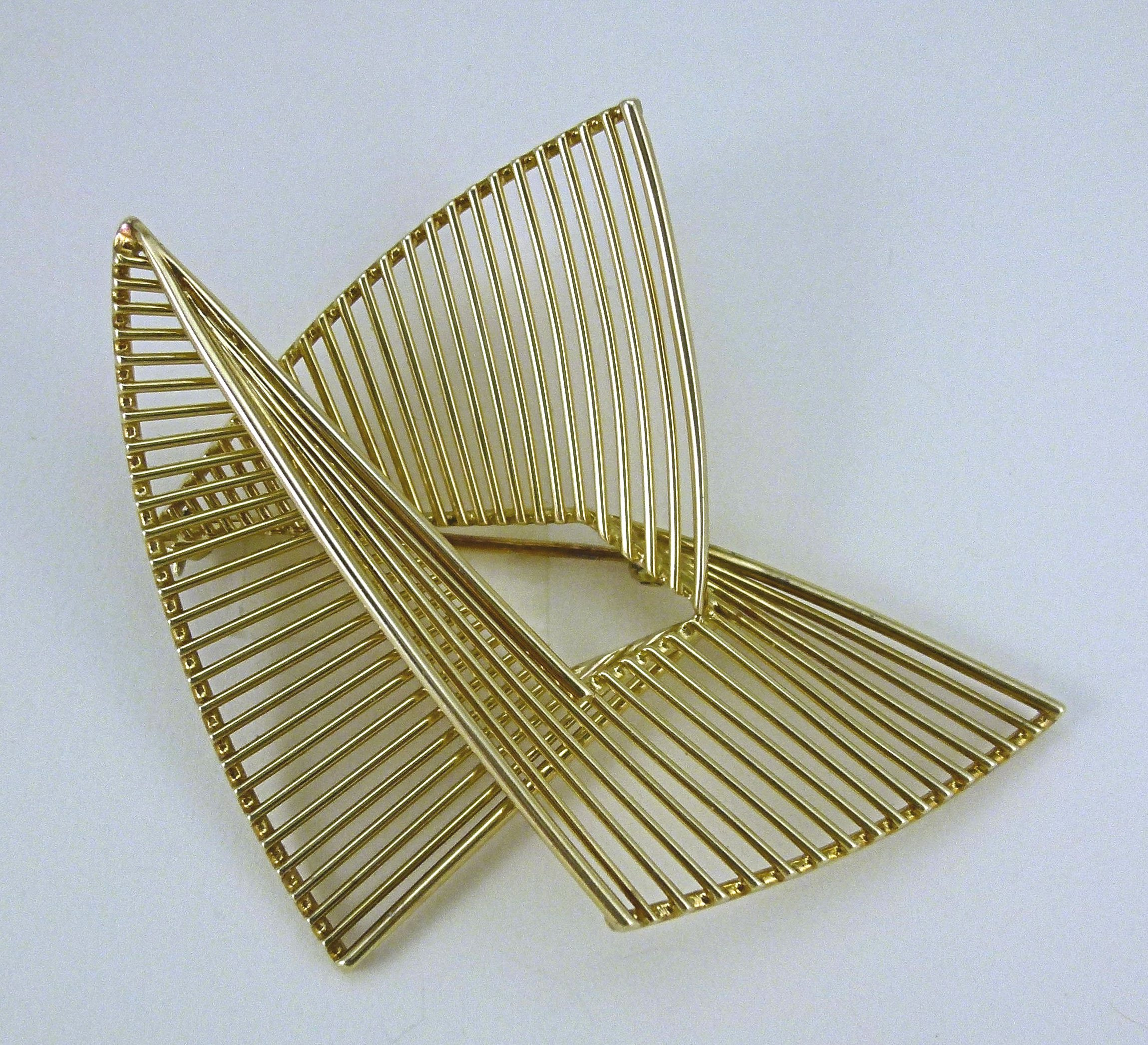 Archibald Dumbar, broche, 1950-1960. Particuliere verzameling, goud