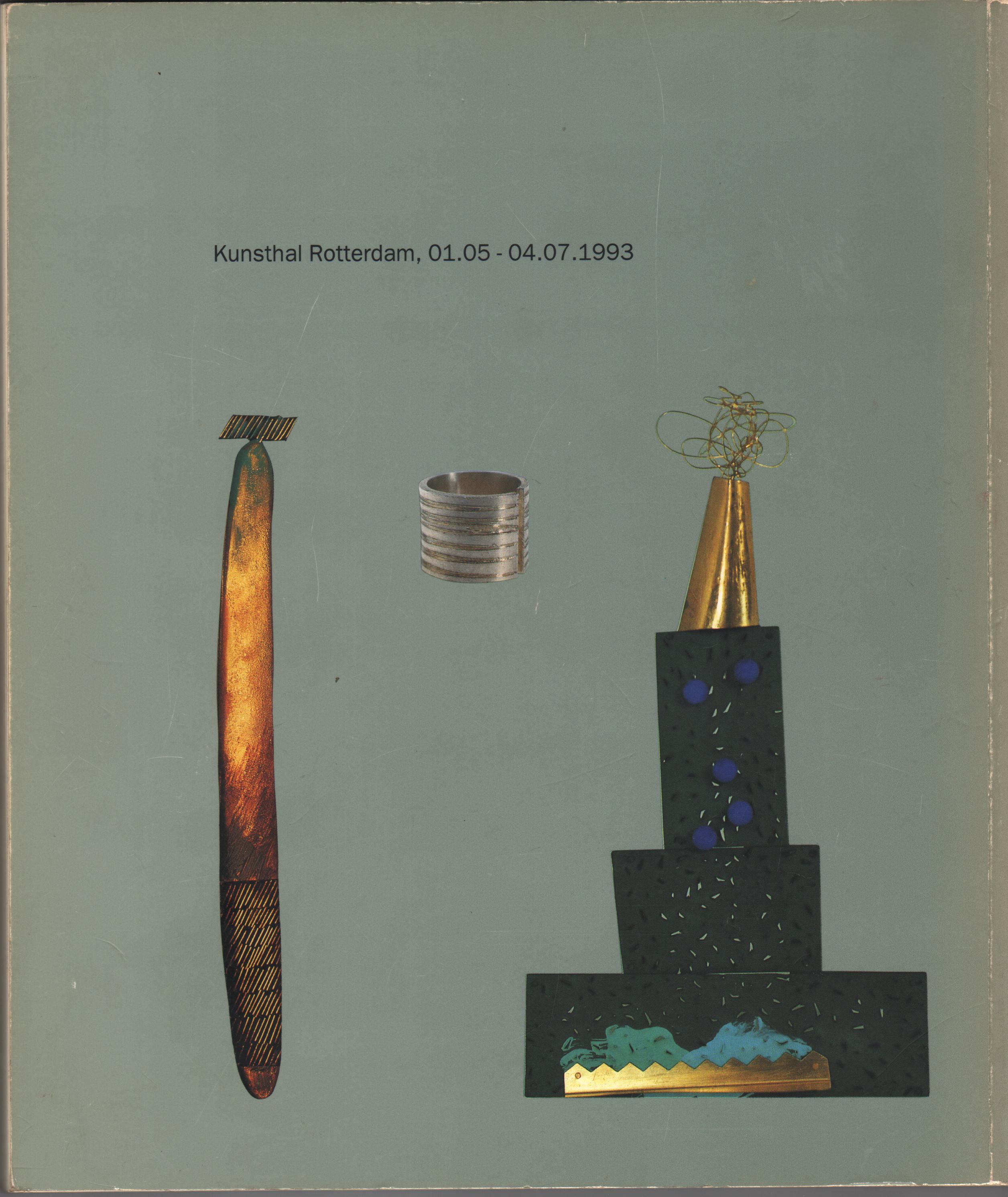 Facet I, catalogus, omslag achterzijde, 1993, papier
