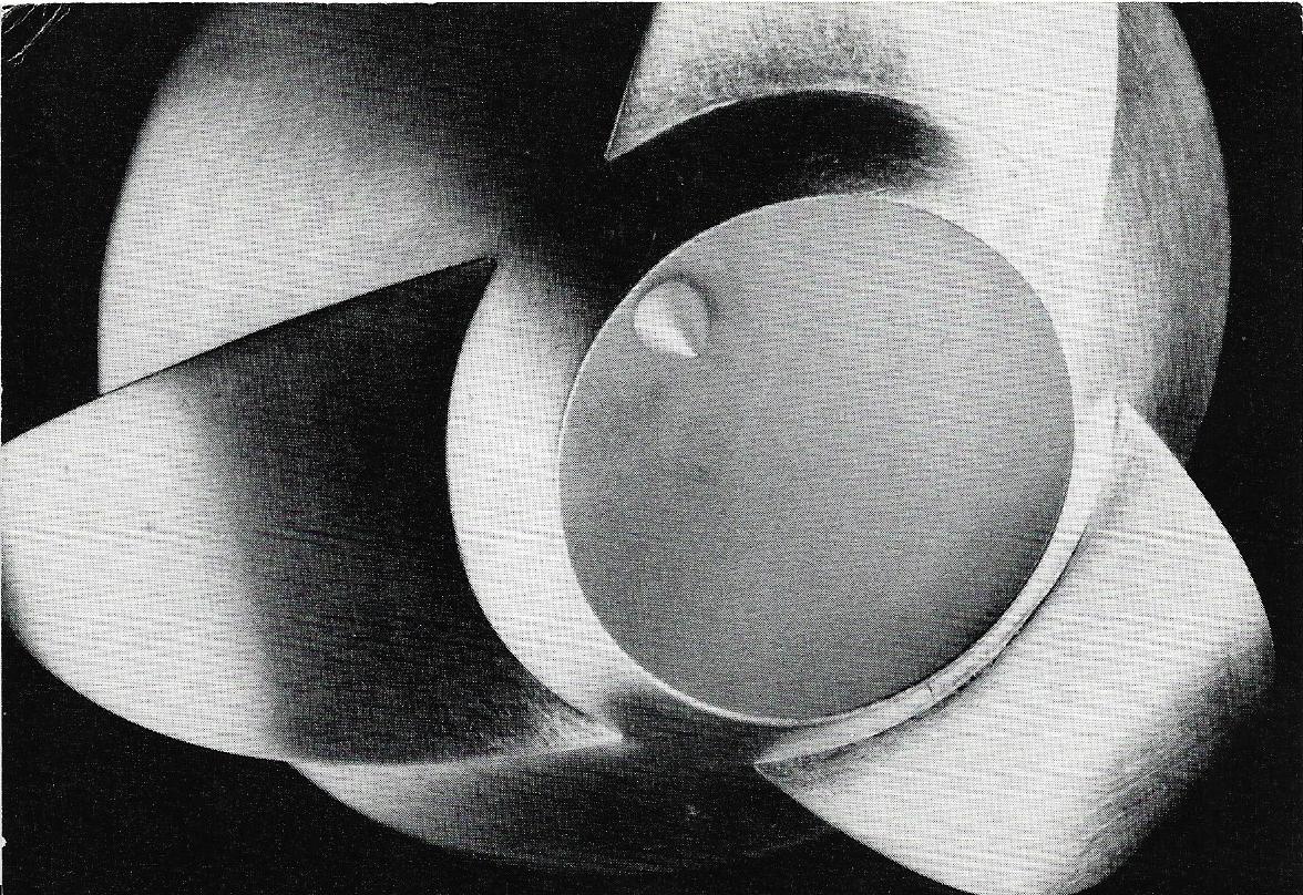 Uitnodiging opening Thérèse Hilbert in Galerie Louise Smit, 1991, papier