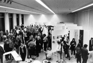 Opening tentoonstelling VES, Stedelijk Museum Amsterdam, 1983