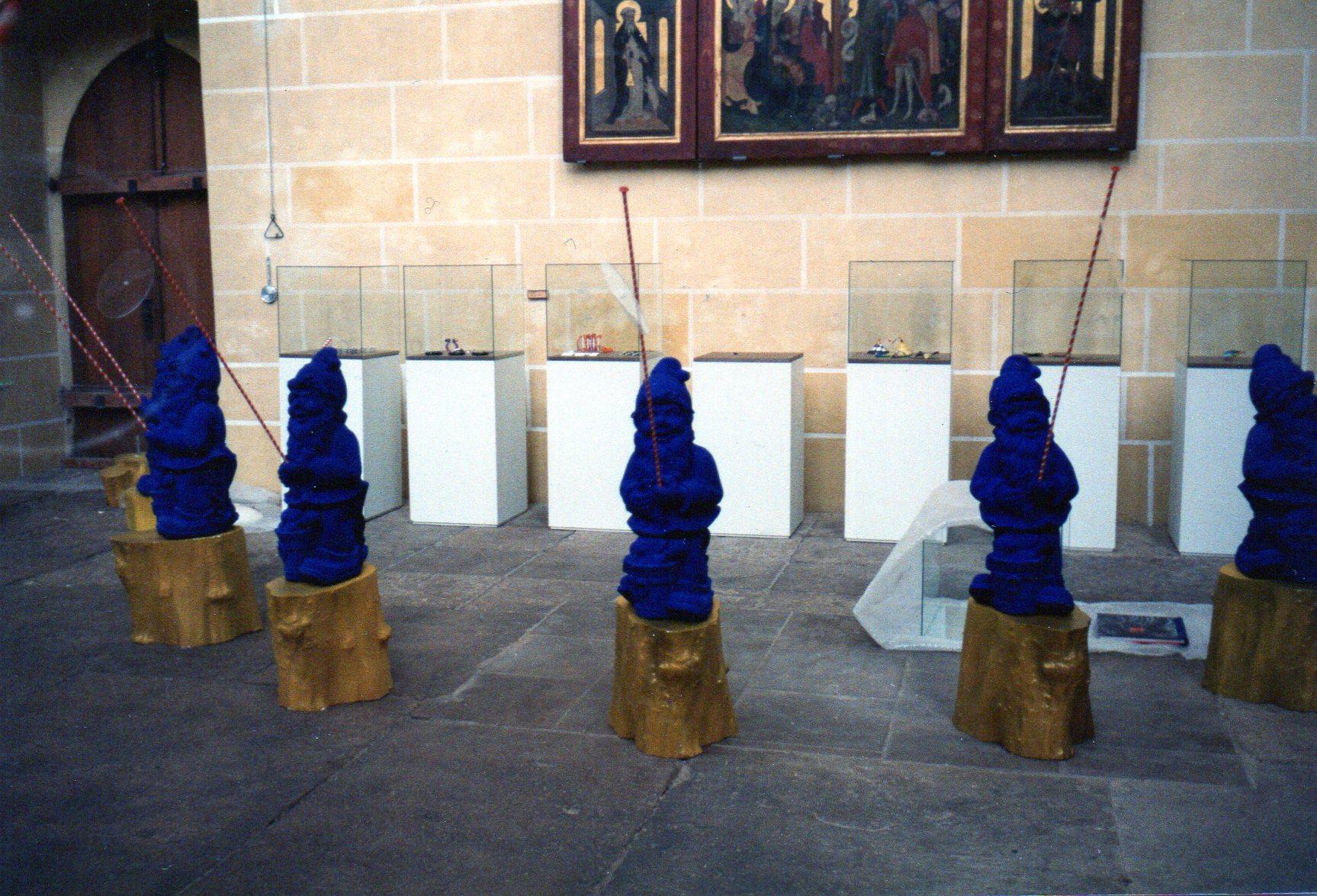 Marion Herbst, tentoonstelling, Erfurt, 1994