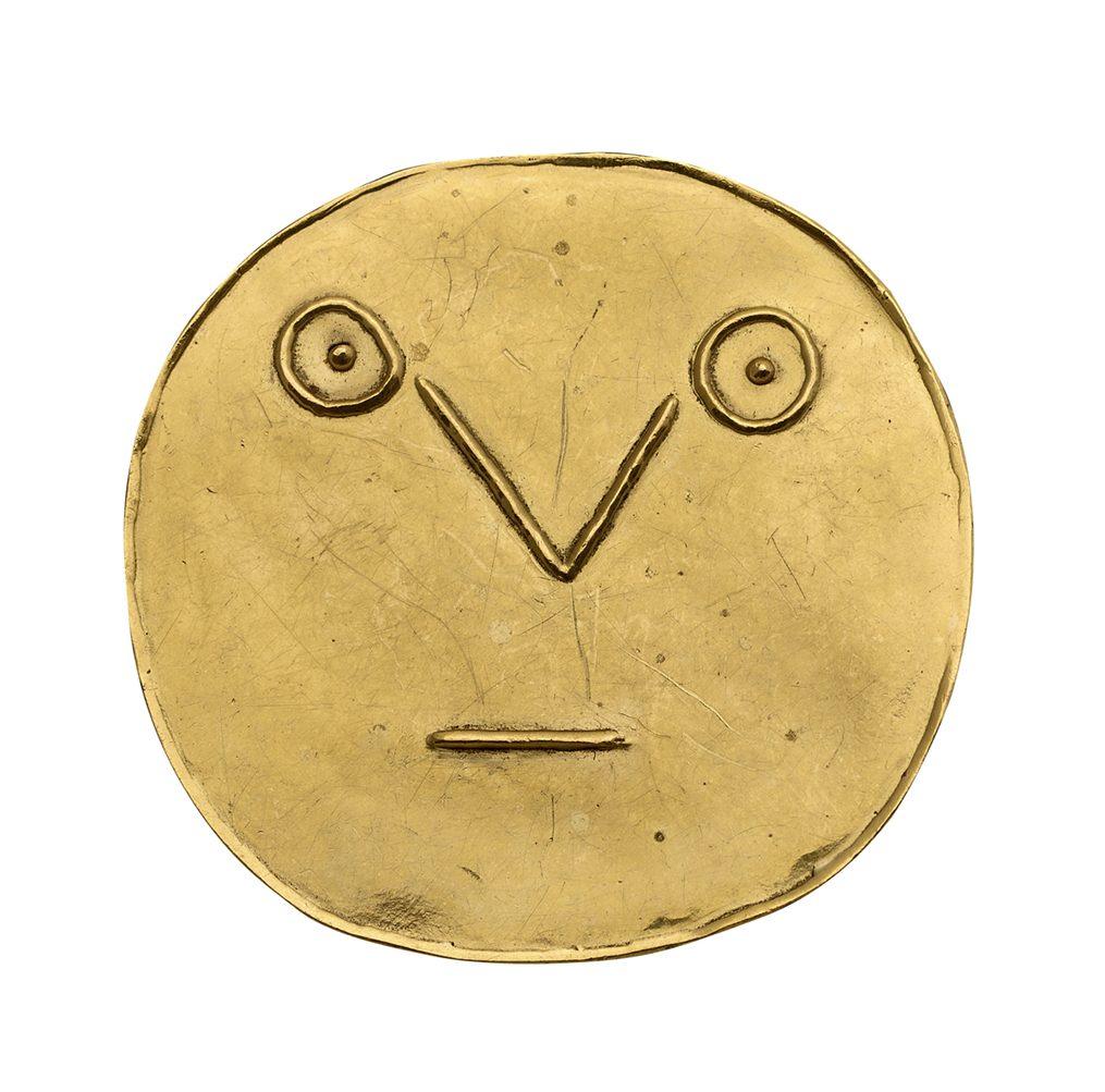 Pablo Picasso, Medaillon Visage géometrique au Traits, 1967. Collectie RIRA, Keulen. Foto Jan Liégeois