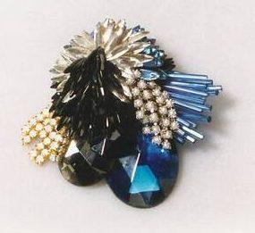 Rhonda Zwillinger, broche, 1989. Collectie Design Museum Den Bosch, S1989.092. Foto met dank aan DMDB©