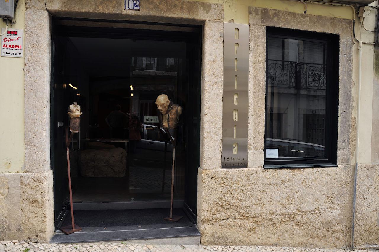 Galeria Articula, Rua dos Remédios 102, Lissabon, entree, 2007, gebouw, exterieur