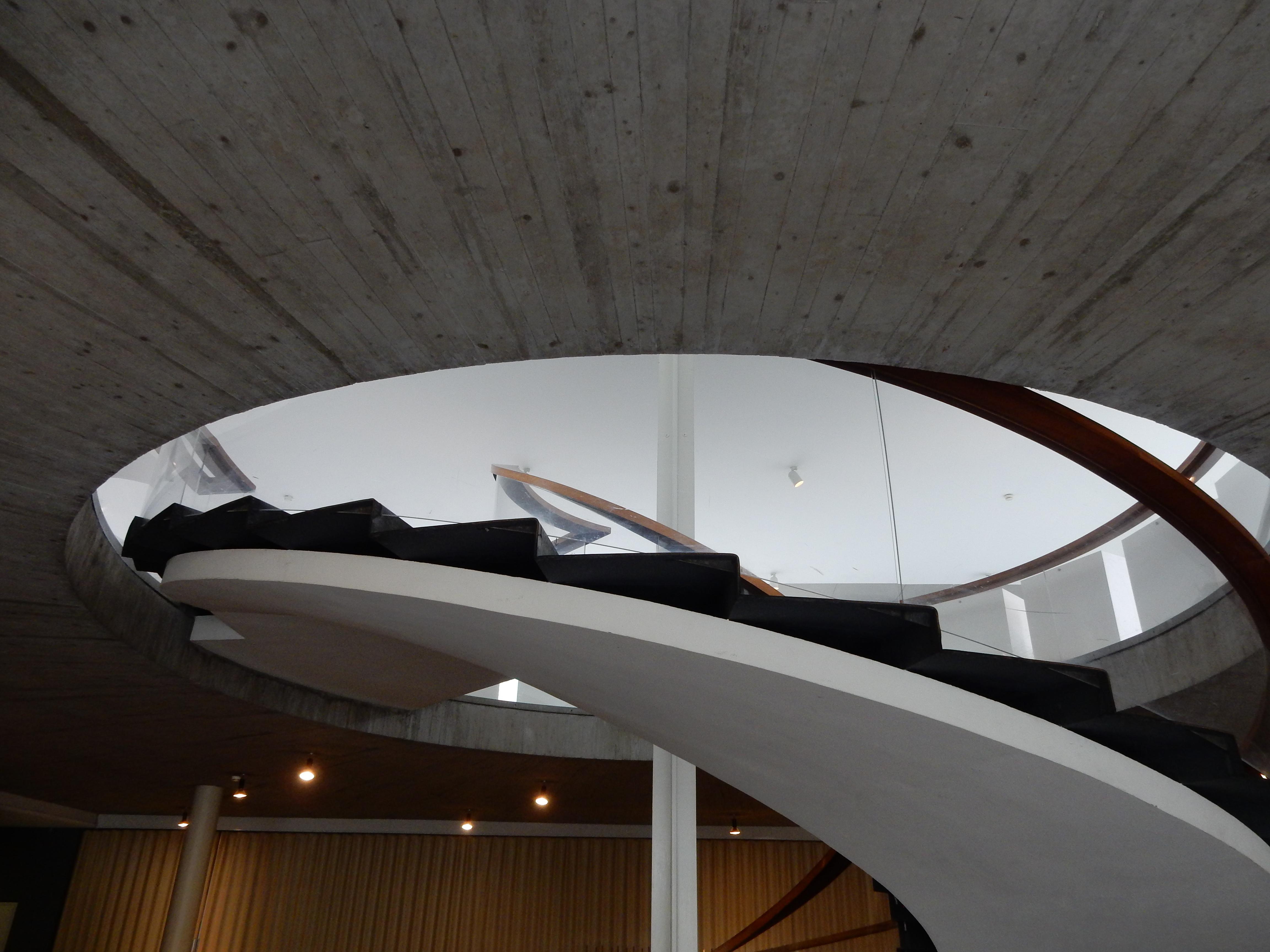 Schmuckmuseum Pforzheim, 11 mei 2019. Foto Coert Peter Krabbe, interieur, trap