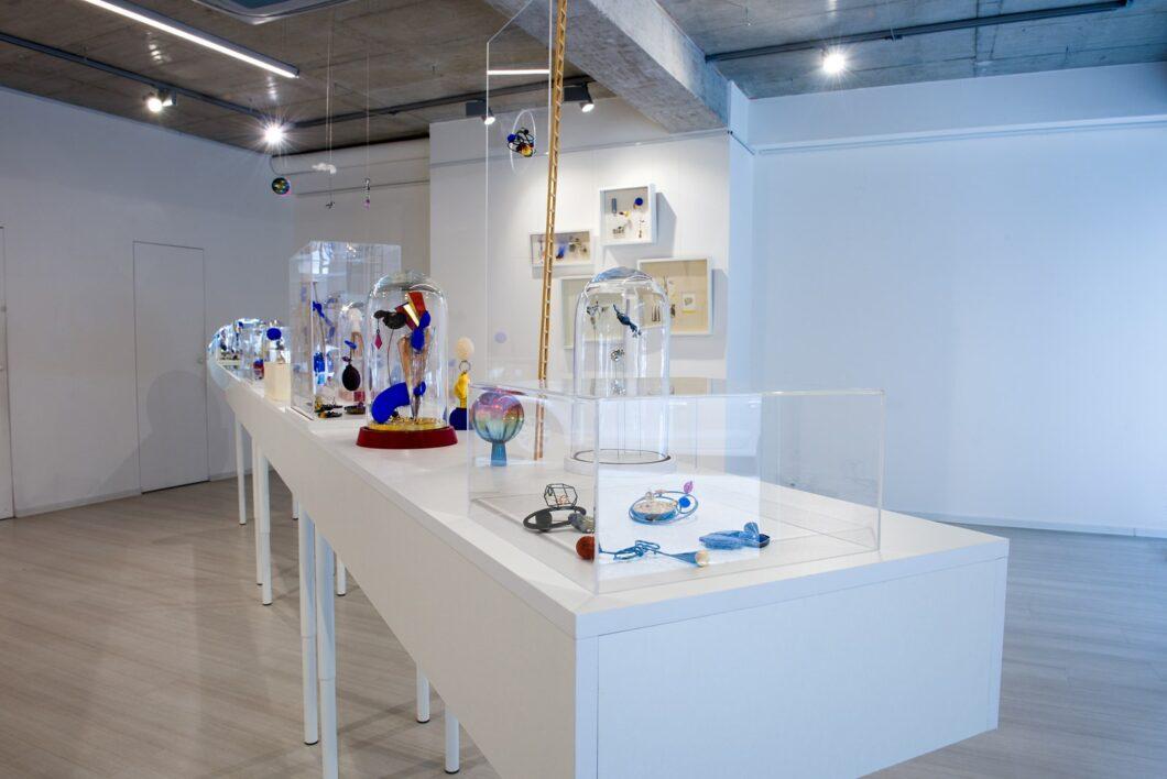 Karol Weisslechner, Prach hviezd, Galéria Čin Čin, 2020. Foto Jena Šimková, tentoonstelling