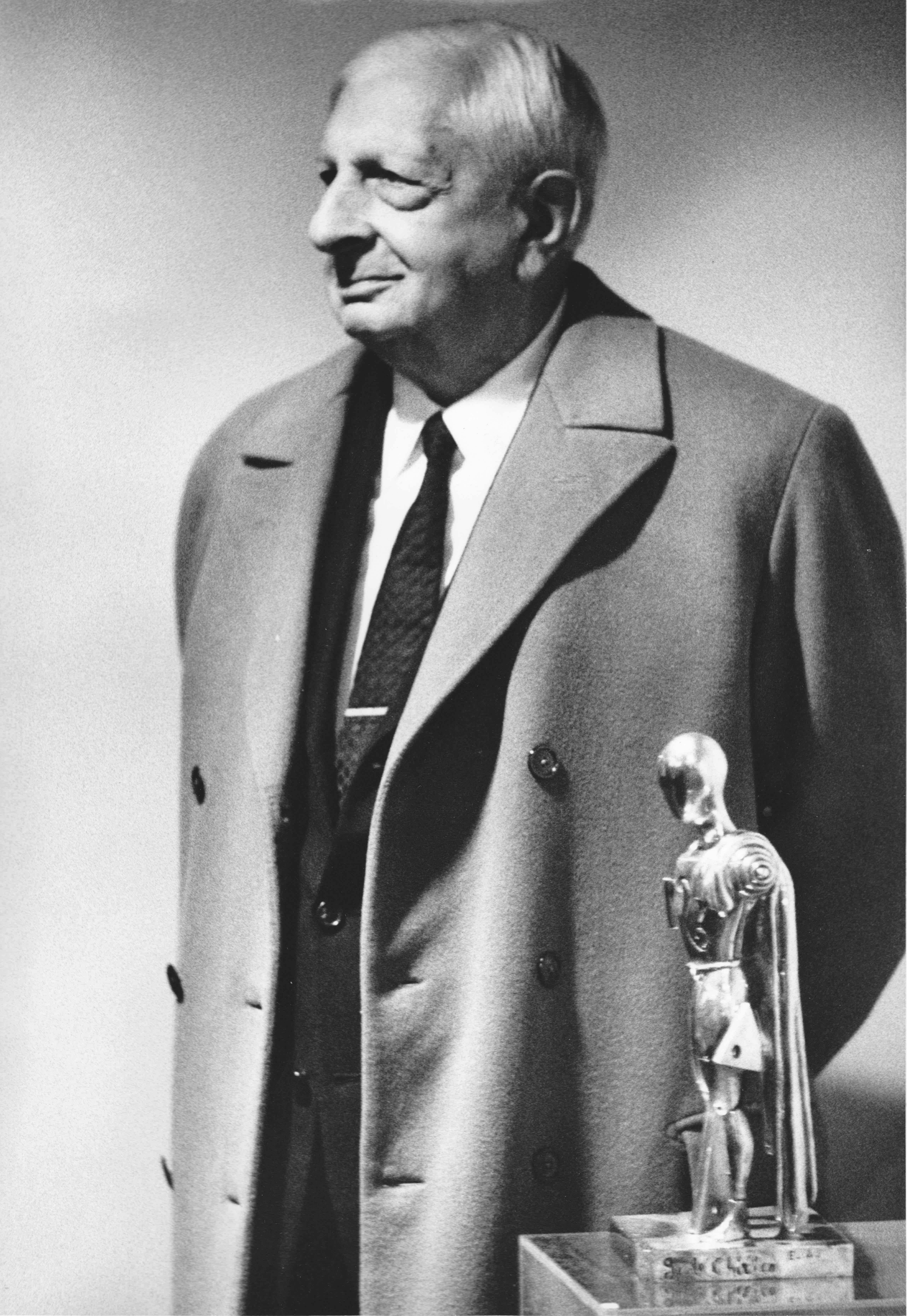 Giorgio de Chirico, 1971, portret
