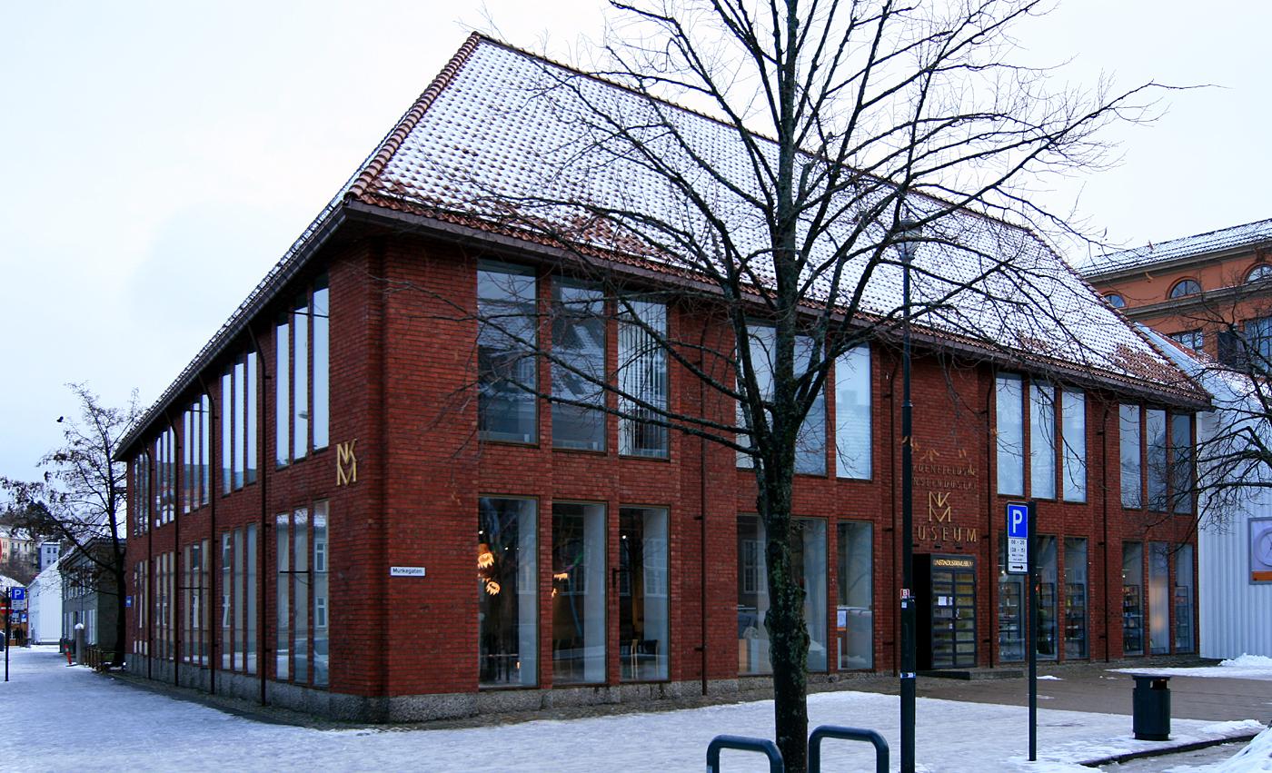 Nordenfjeldske Kunstindustrimuseum, exterieur