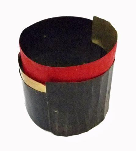 Lucia Massei, Arrithmya, armband, blik, goud, pigment