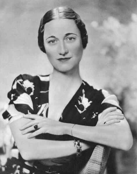 Wallis Simpson, 1936, portret