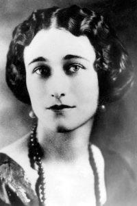 Wallis Simpson, portret, halssieraad