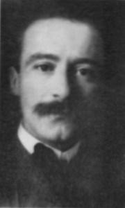 Julio Gonzáles, 1917, portret