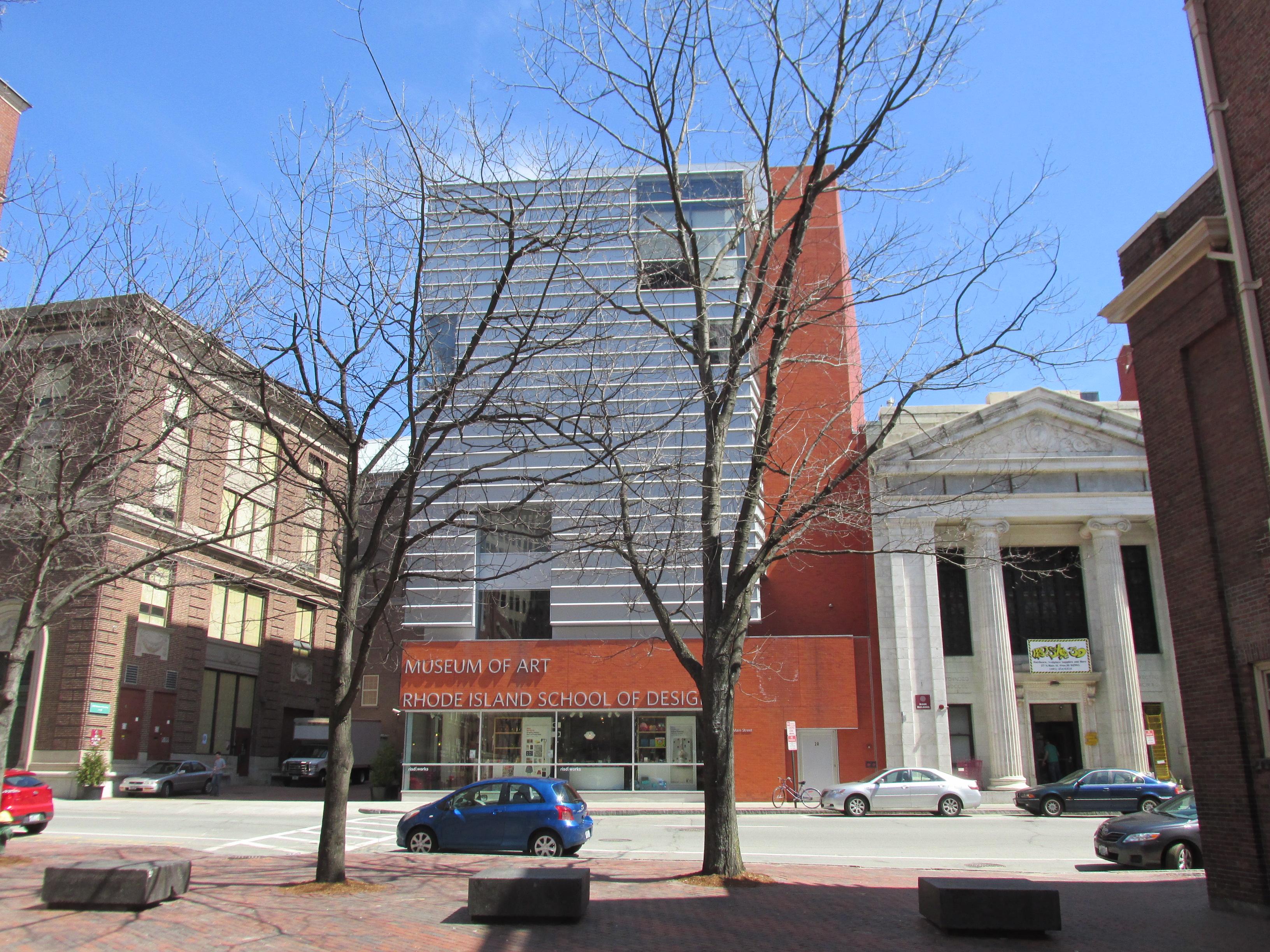 Museum of Art, RISD, 2014. Foto John Phelan, gebouw, exterieur