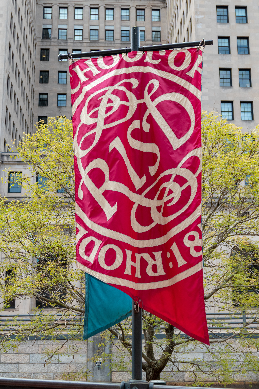 RISD Banner, 2019. Foto Kenneth C. Zirkel, vlag