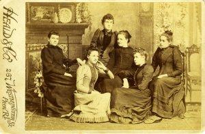 RISD, Klassefoto, 1892, portret