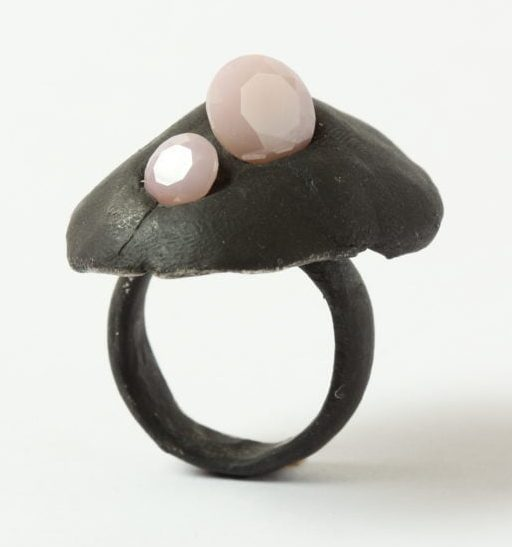 Karl Fritsch, Ring #467, ring, 2019, zilver, cubic zirconia