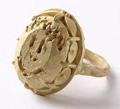 Karl Fritsch, ring, 2014, goud