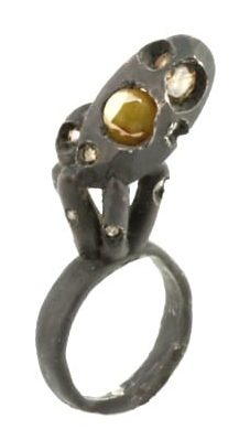 Karl Fritsch, Ring #291, ring, 2007, zilver, diamant