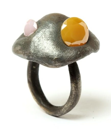 Karl Fritsch, Ring #468, ring, 2019, zilver, cubic zirconia