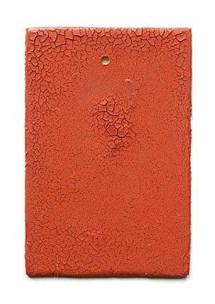 Warwick Freeman, Dust, broche, 2012, steenpoeder, acryl, hout