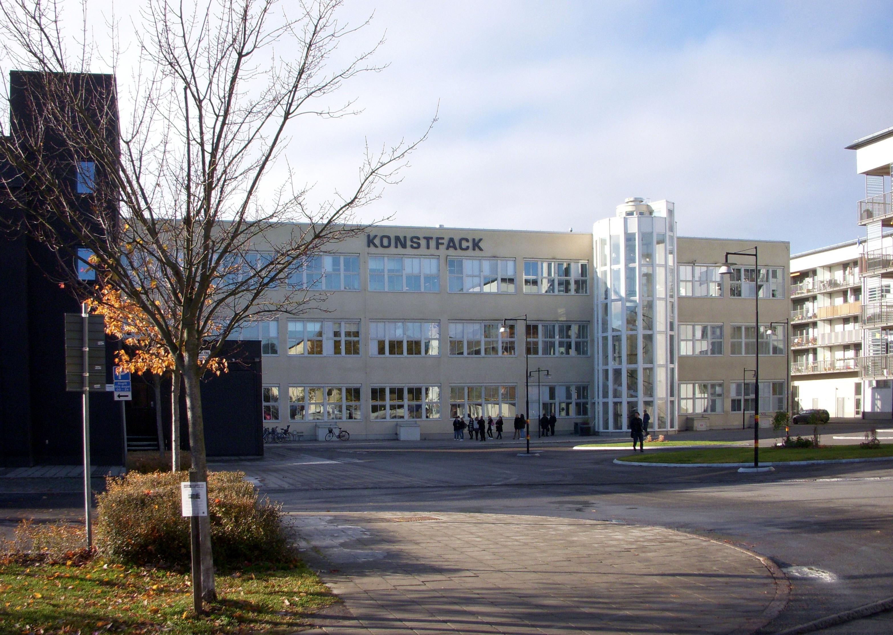 Konstfack Skolan, 2010. Foto Holger.Ellgaard, gebouw, exterieur, kunstacademie