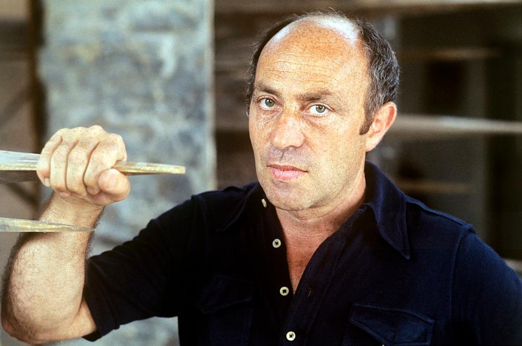 Arnaldo Pomodoro, 1975, portret