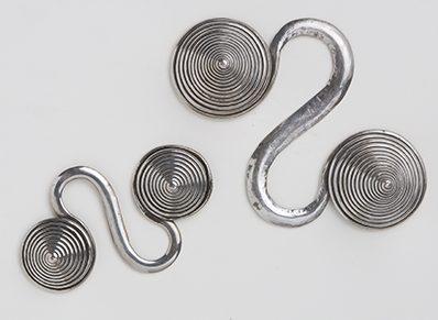 Sieraden, China, 1900-1999. Collectie World Jewellery Museum, zilver