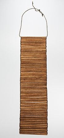 Halssieraad, Papoea-Nieuw-Guinea, 1900-1999. Collectie World Jewellery Museum, bamboe