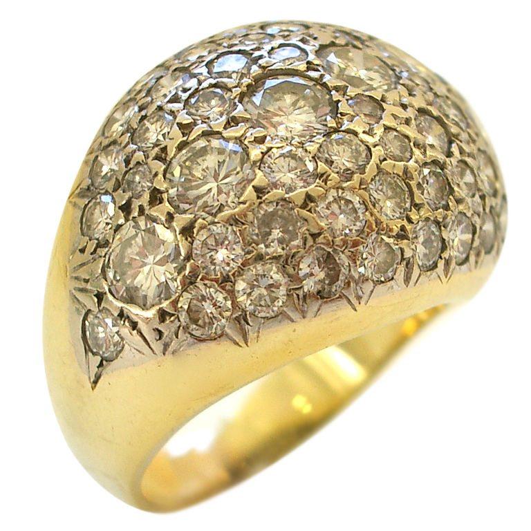 Ring, Verenigde Staten, circa 1960. Foto Kimberly Klosterman, goud, diamant
