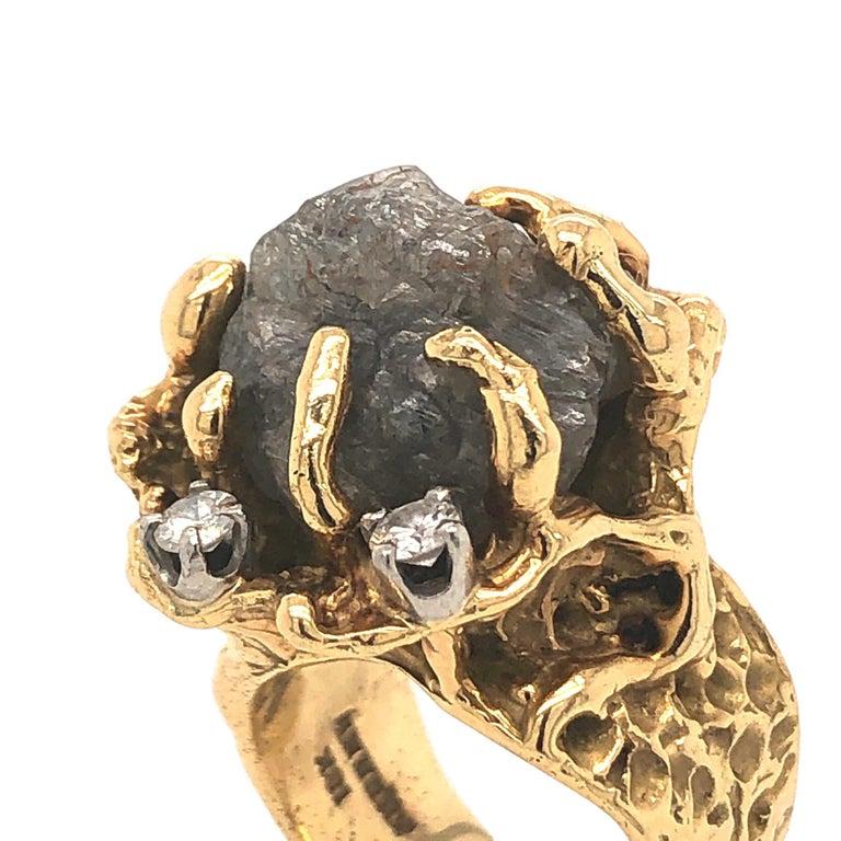 Andrew, ring, 1970-1979. Foto Kimberly Klosterman, goud, diamant,