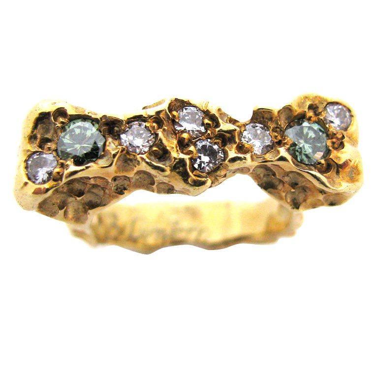Barbara Anton, ring, circa 1970. Foto Kimberly Klosterman, goud, diamant