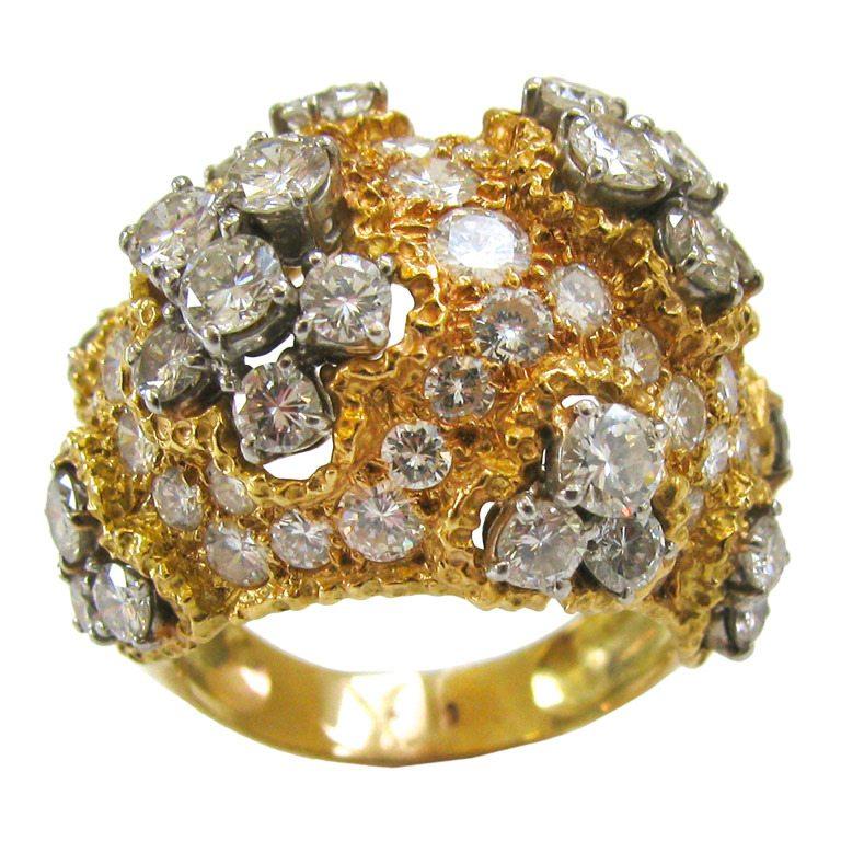 Ring, Frankrijk, circa 1960. Foto Kimberly Klosterman, goud, diamant