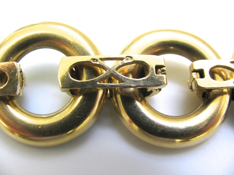 Ulmer et Cie, armband, oorsieraden, halssieraad (à double usage), circa 1970. Foto Kimberly Klosterman, goud, malachiet