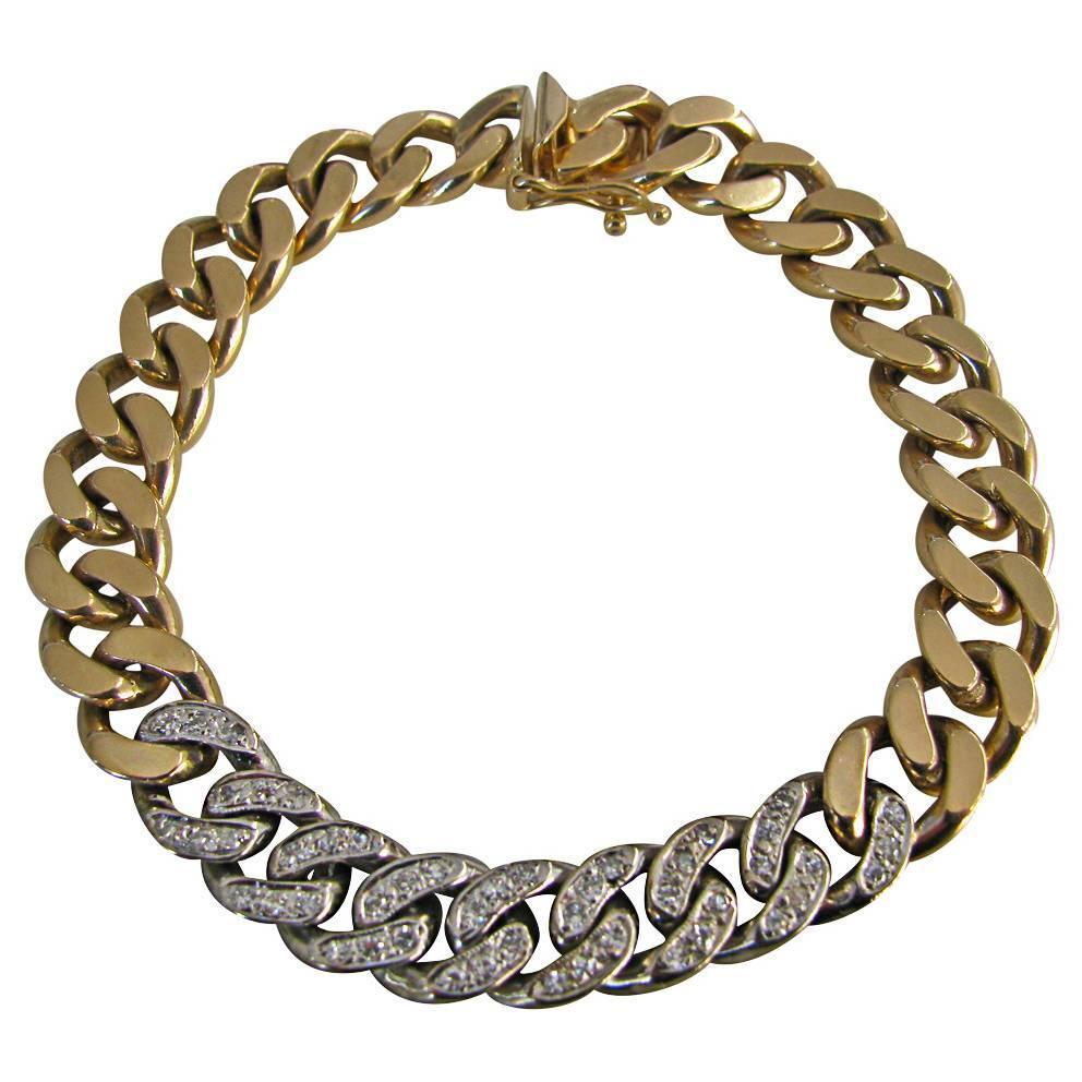 Tiffany & Co., armband, circa 1970. Foto Kimberly Klosterman, goud, diamant