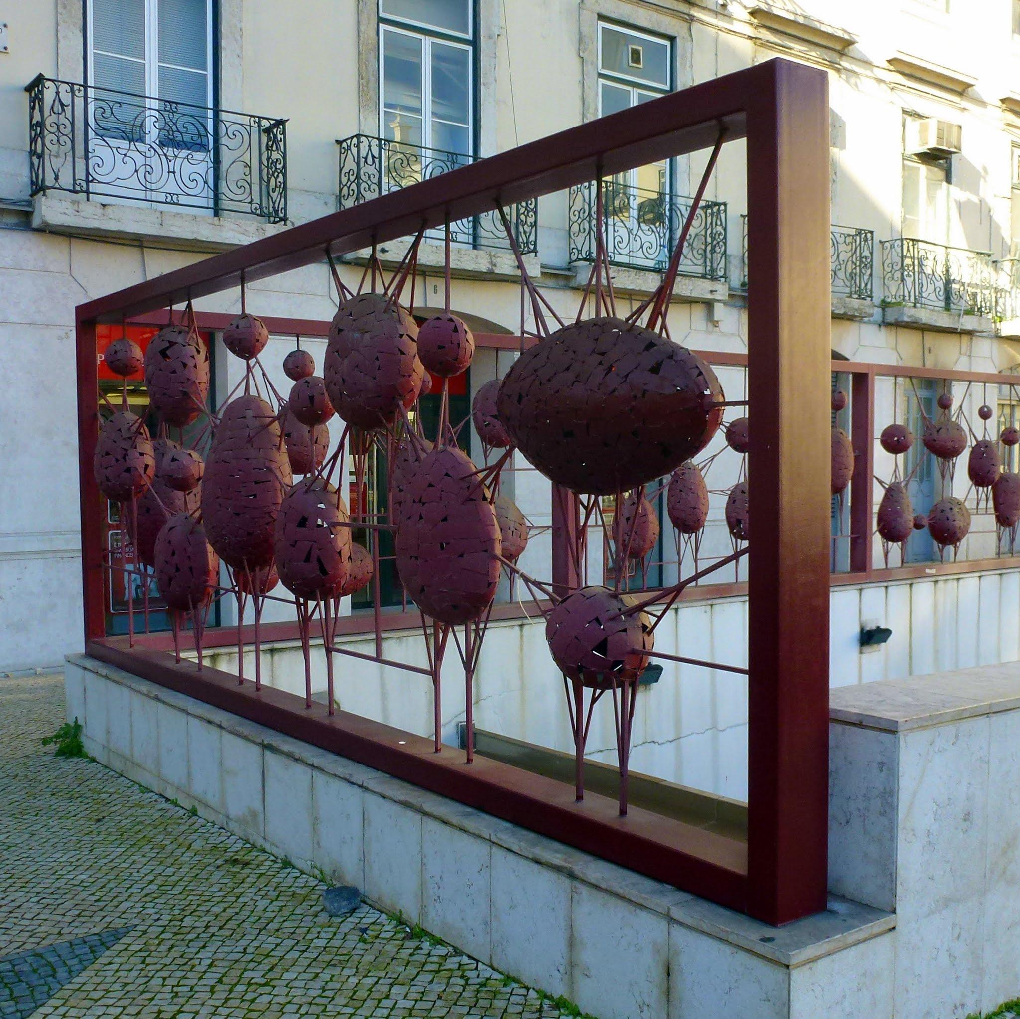 Jorge Vieira da Silva, hek, Lissabon, 1997. Foto Николай Максимович