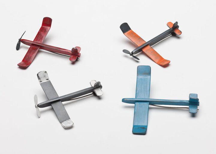 Kirsten Haydon, Mini Aero Modelers. Foto Gallery Funaki, gezwart zilver, verf
