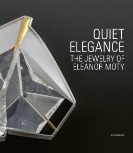 Boekomslag Quiet Elegance, 2020. The Jewelry of Eleanor Moty. Foto Arnoldsche