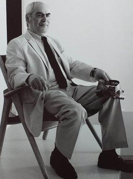 Portret Alberto Gordillo, met halssieraad, 1958, zilver
