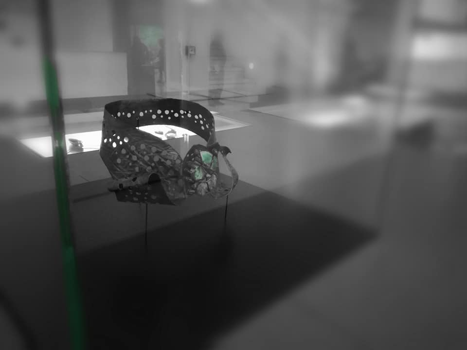 Alberto Gordillo, halssieraad, 1958. Tentoongesteld op Convidados de Verão, joalharia contemporânea in Museu Calouste Gulbenkian, 2019, zilver
