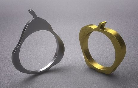 Jan Pijcke, ringen, lasercut
