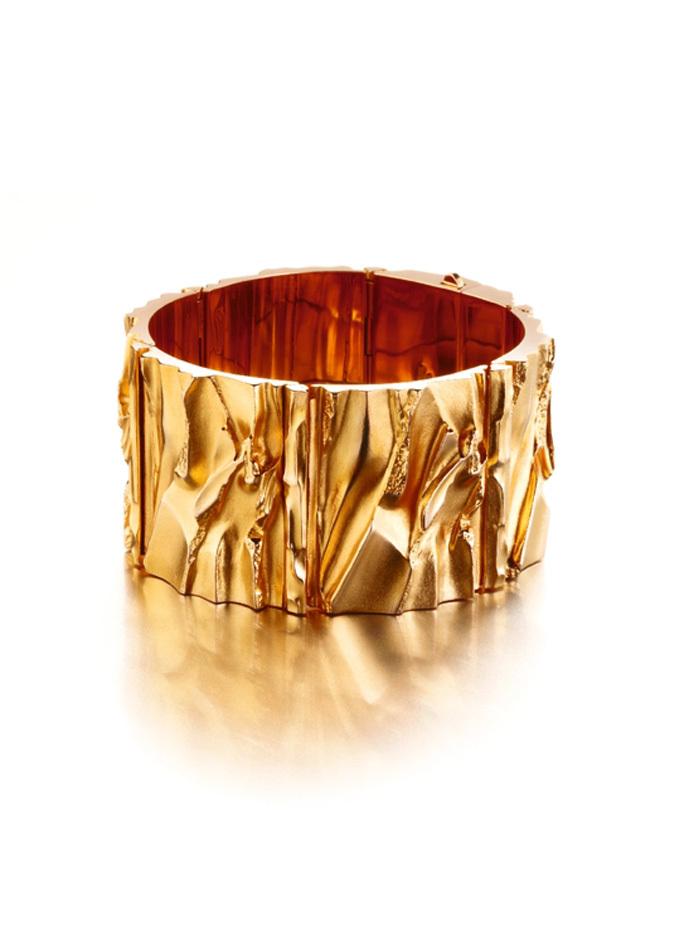 Björn Weckström, Goldfire, armband, 1992. Foto Björn Weckström, goud