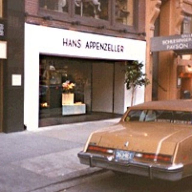 Hans Appenzeller, Madison Avenue 820 New York, 1983, gevel, exterieur