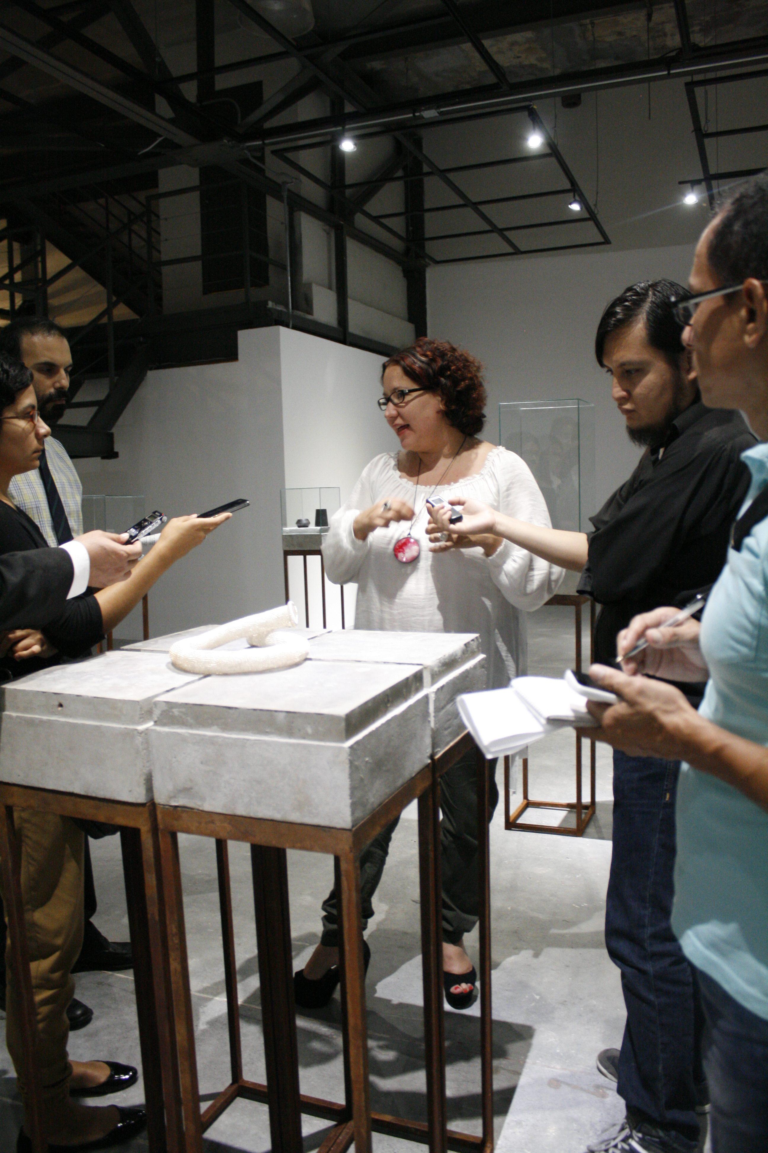 Think Twice, Centro de las Artes de Monterrey, Mexico, 2013, tentoonstelling, portret
