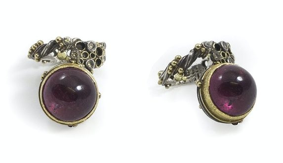 Gerda Flöckinger, ring, 1995-1996, edele metalen, diamanten, toermalijn