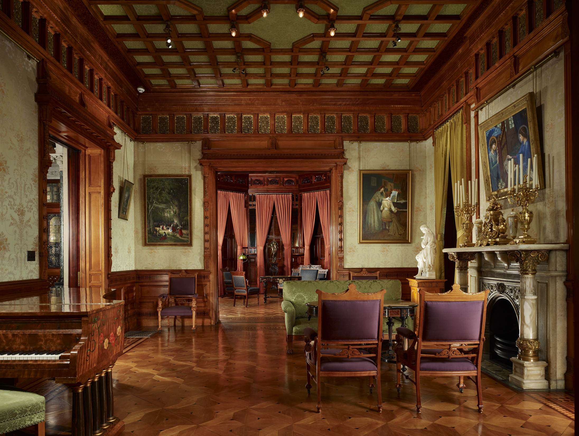Richard H. Driehaus Museum, Drawing Room. Foto 2008, Steve Hall of Hedrich Blessing