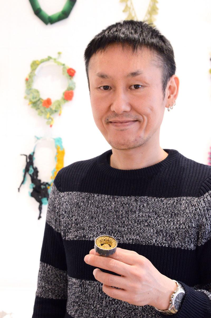 Arata Fuchi, fotoportret, ring
