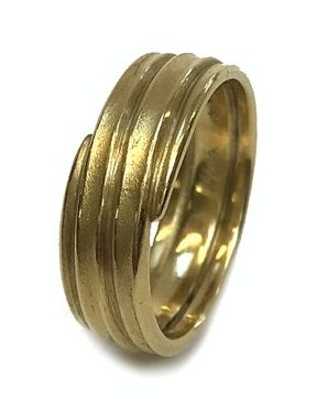 Jacqueline Mina, Coiled Ring, ring, 2011, goud