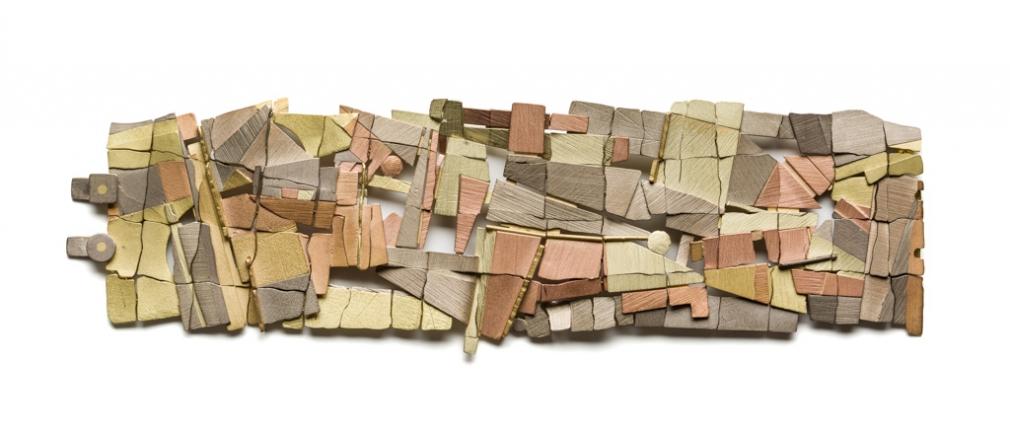 John Iversen, Falling Water, armband, 2012, goud