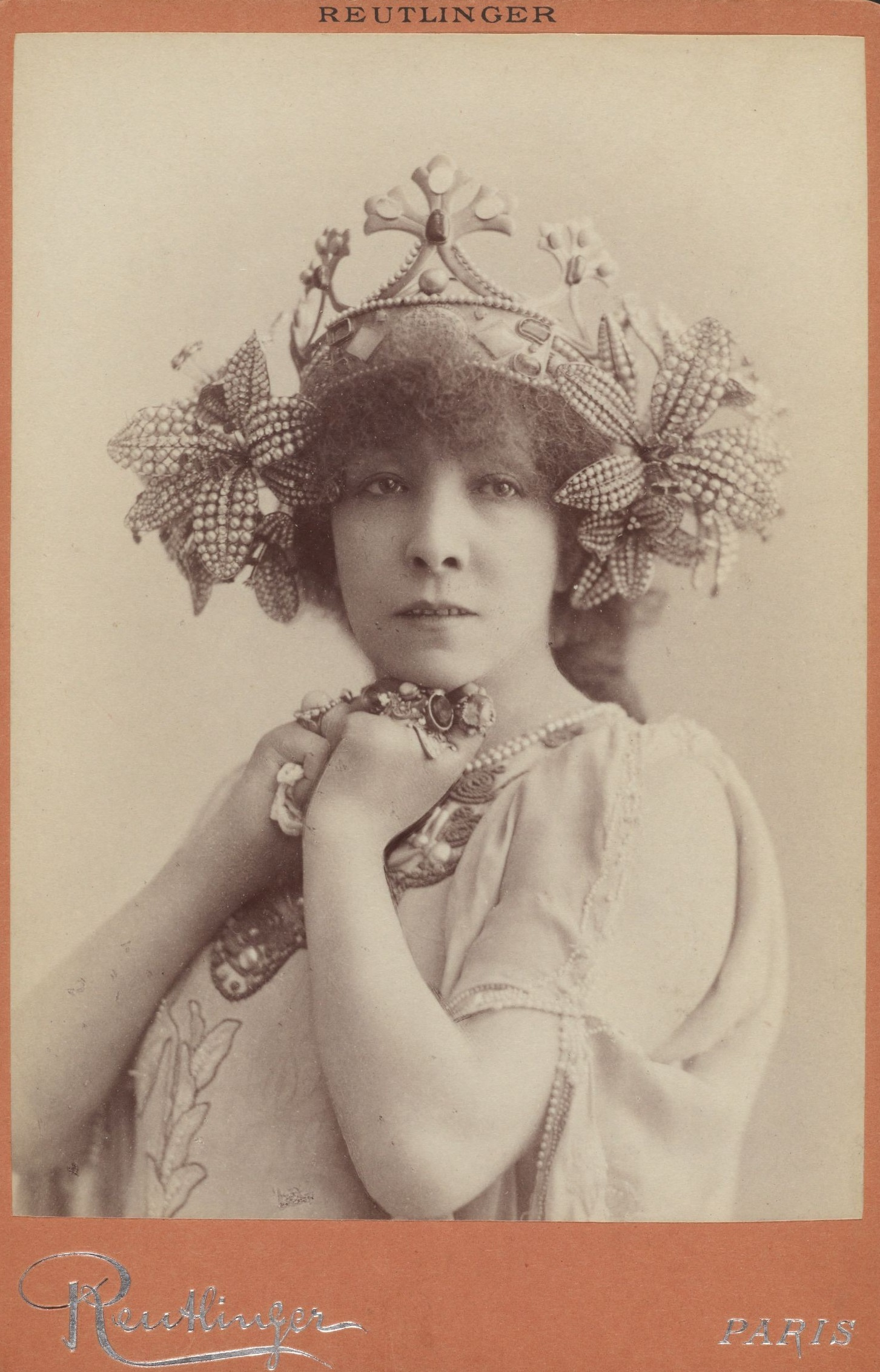Léopold Reutlinger, Sarah Bernhardt, foto, 1897